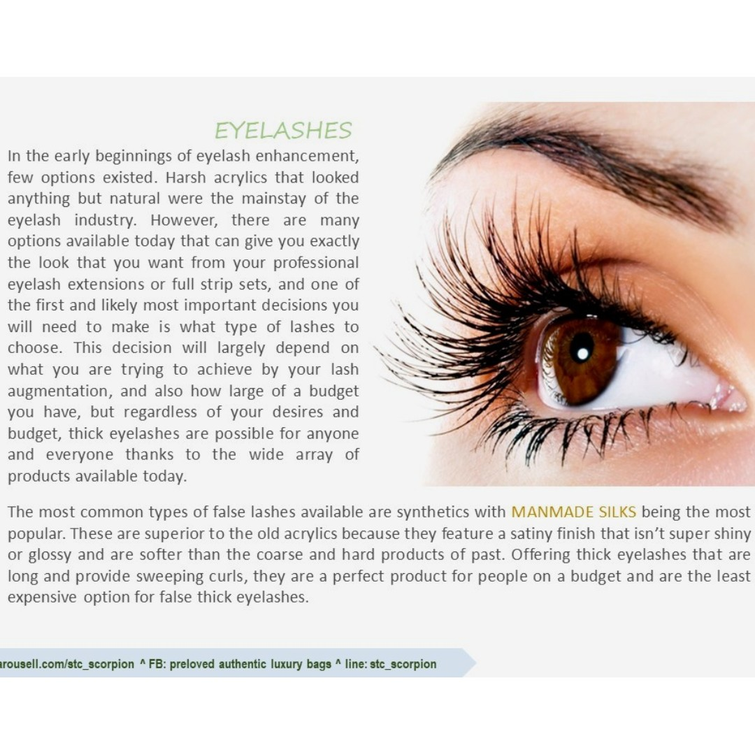 FACTS ABOUT MINK EYELASHES