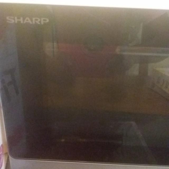 Faulty Sharp microwave