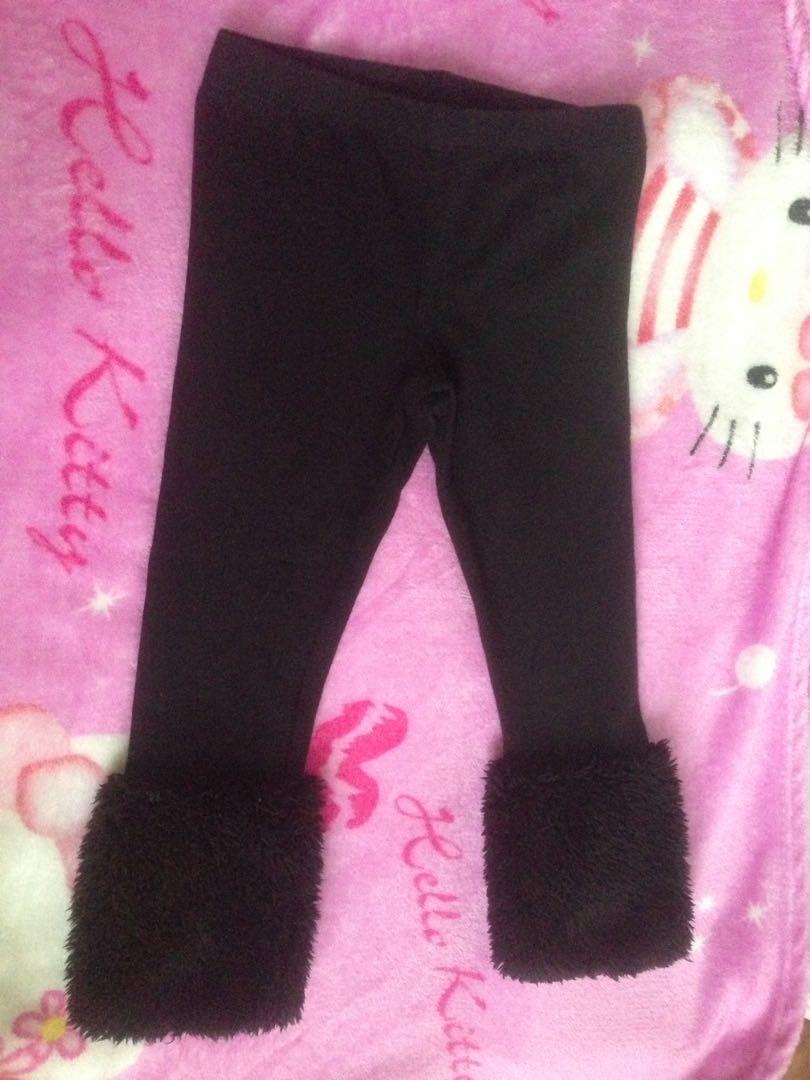 Fur Legging legging bulu