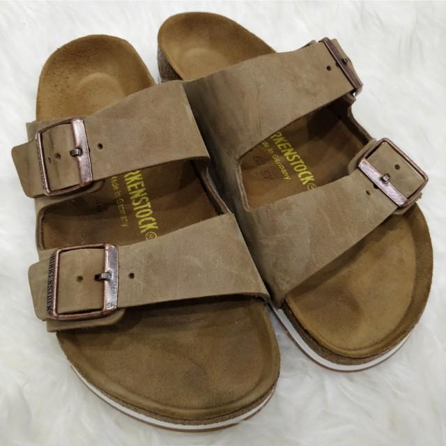 (Reduced!) Genuine Birkenstock Slippers