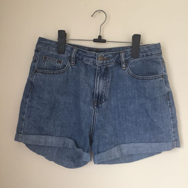 Glassons denim boyfriend shorts