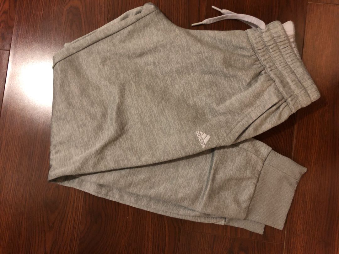 Grey ADIDAS climawarm sweatpants