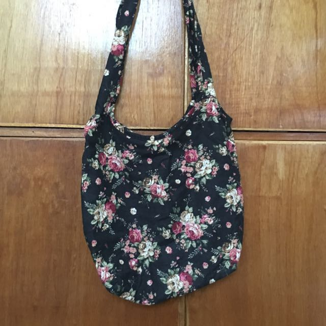 Herbench Floral Shoulder Bag