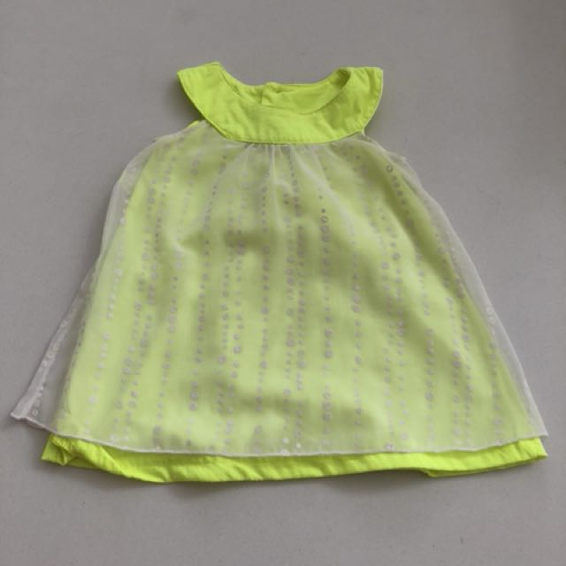 Hippo baby dress