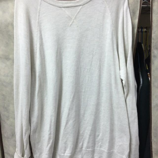 H&M 米白針織衫