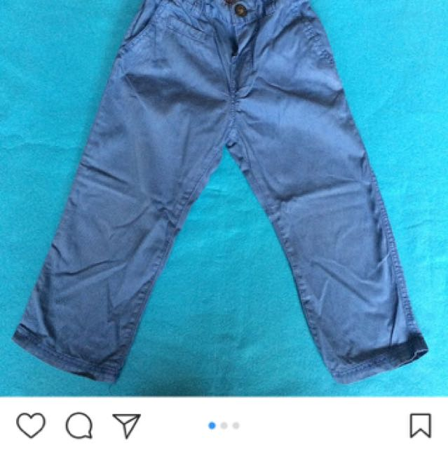 H&M Light Blue Soft Pants