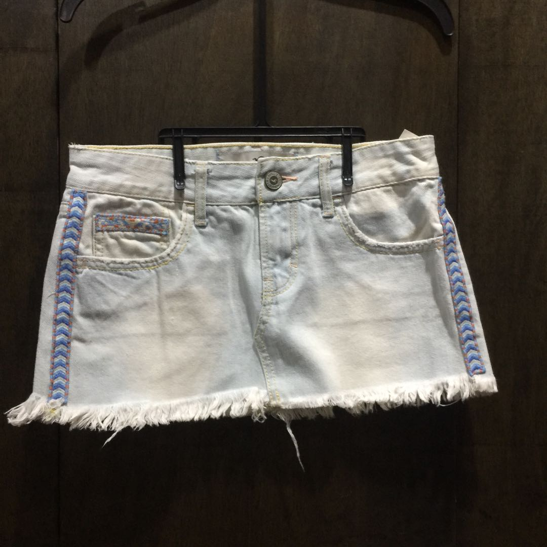 Hollister Mini Denim Skirt