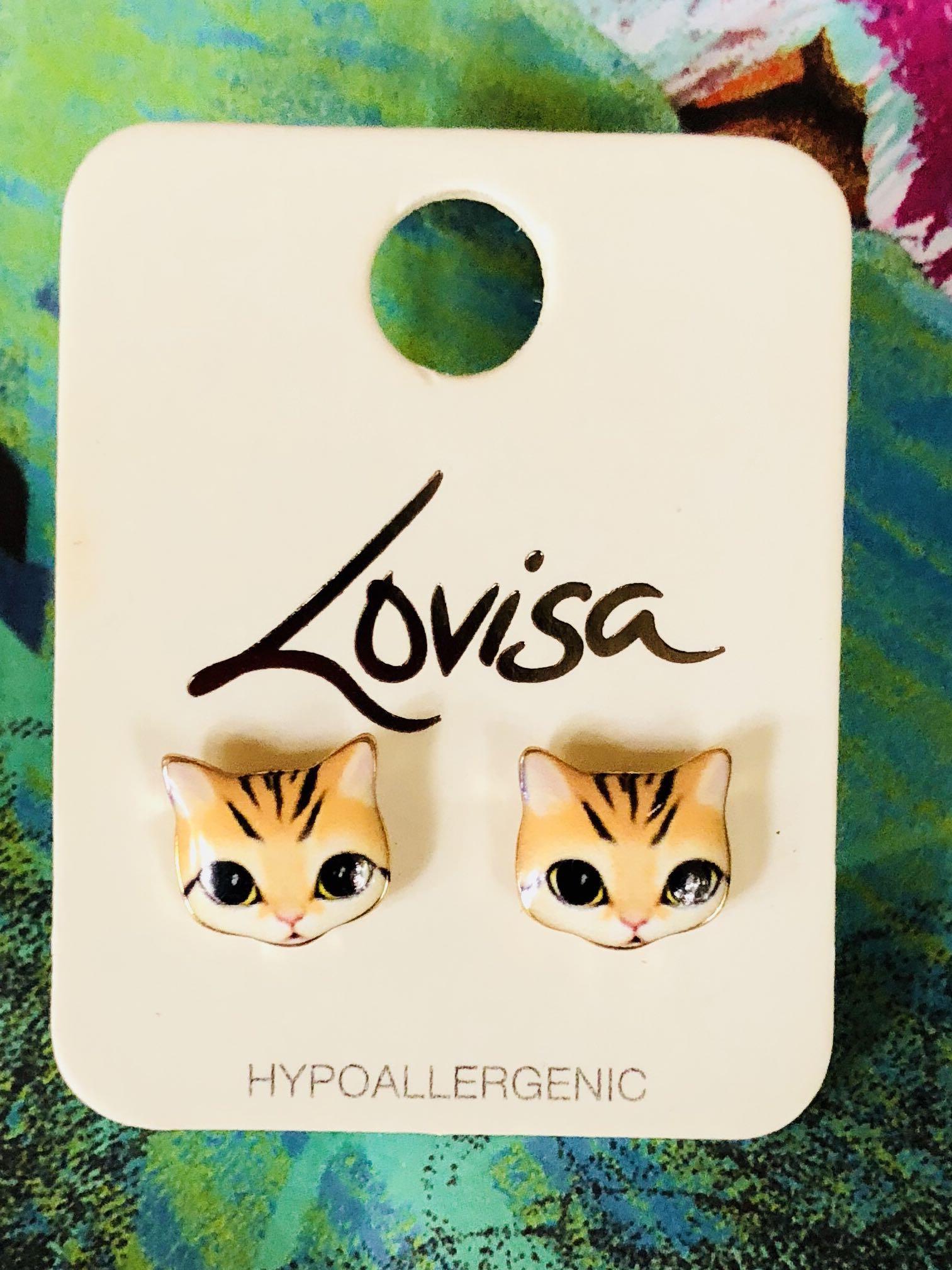 Hypoallergenic kitty cat 🐈 Earrings