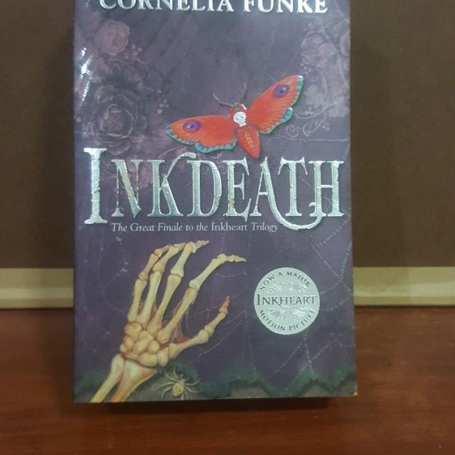 Inkdeath inkheart trilogy 3 books stationery books on carousell photo photo photo photo fandeluxe Choice Image