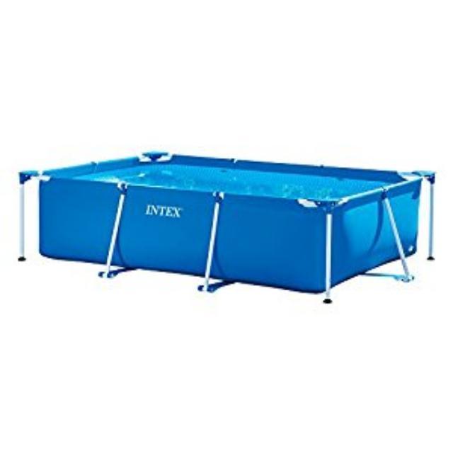 Intex 300M x 200M x 75cm rectangular frame pool