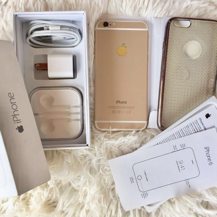 iPhone 6 GOLD 🍃