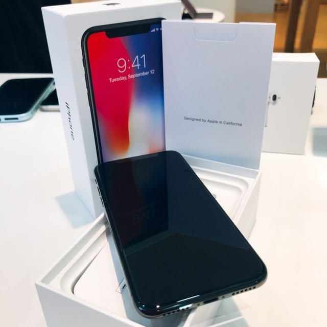 iPhoneX 64G黑(拆封新品)