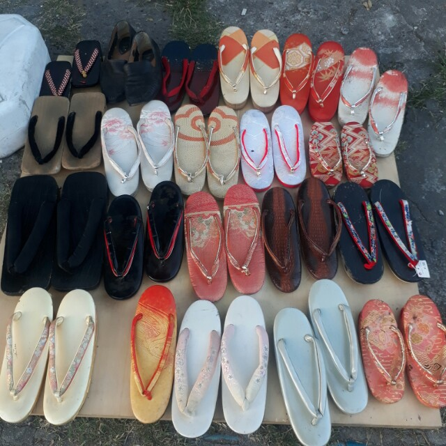 Japanese geta zori slippers sandals bakya