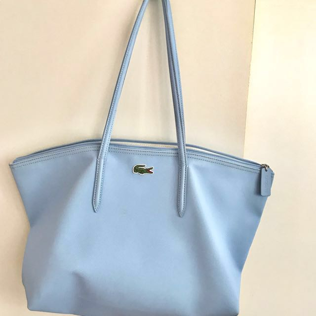 ab89875dc Lacoste baby blue bag