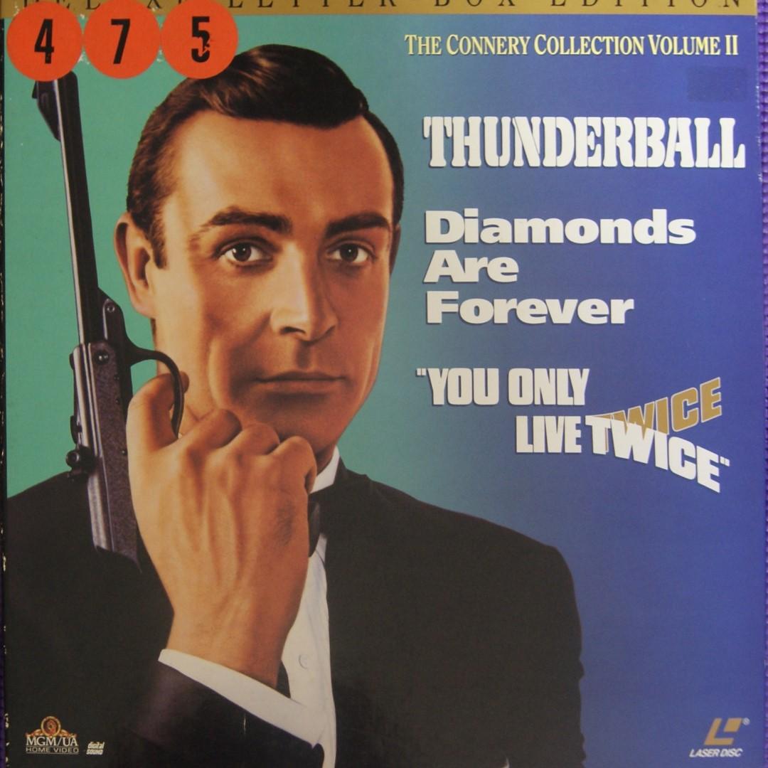 Laser Disc Movies - James Bond 1) Thunderball