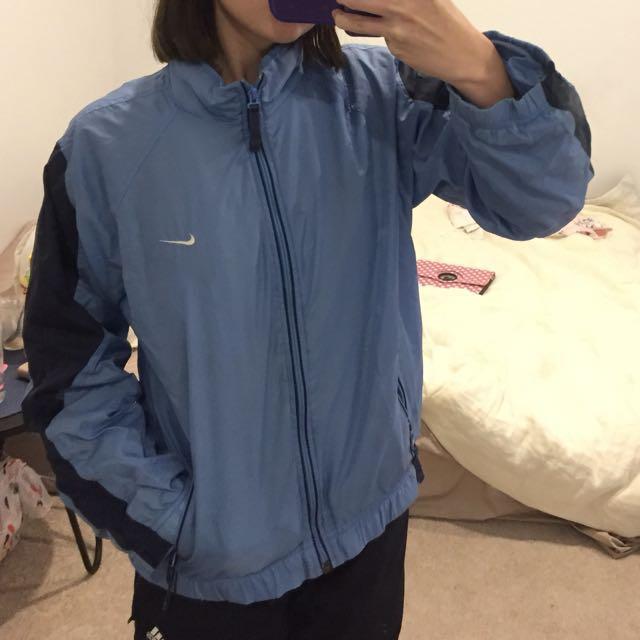 Light Blue Nike Spray Jacket