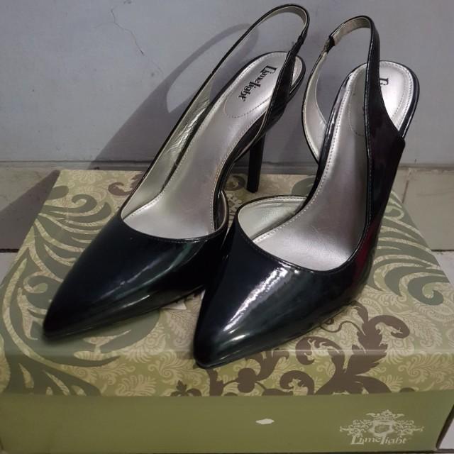 Limelight Black Heels