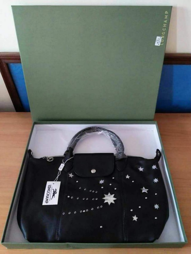 Longchamp Lepliage Cuir Tote (Star)