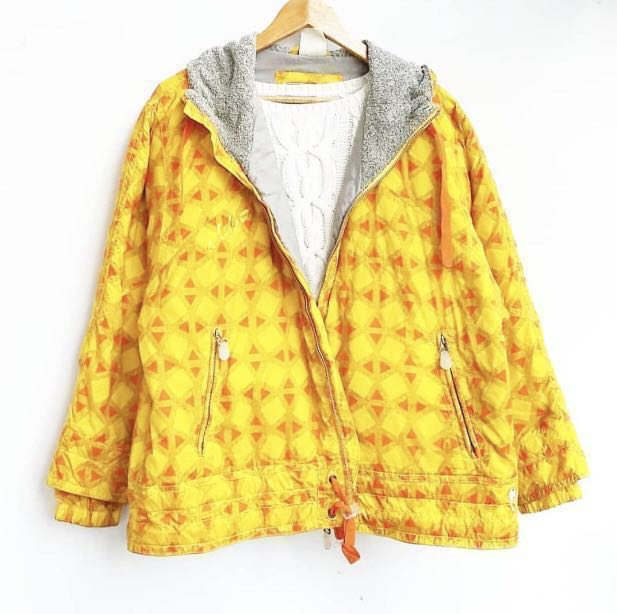 M18 Yellow winter jacket with inner fleece  (Winter/Spring)