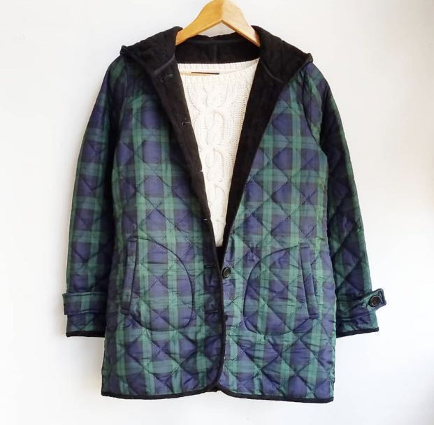 M22 Plaid Unisex Winter Jacket  (Winter/Spring)