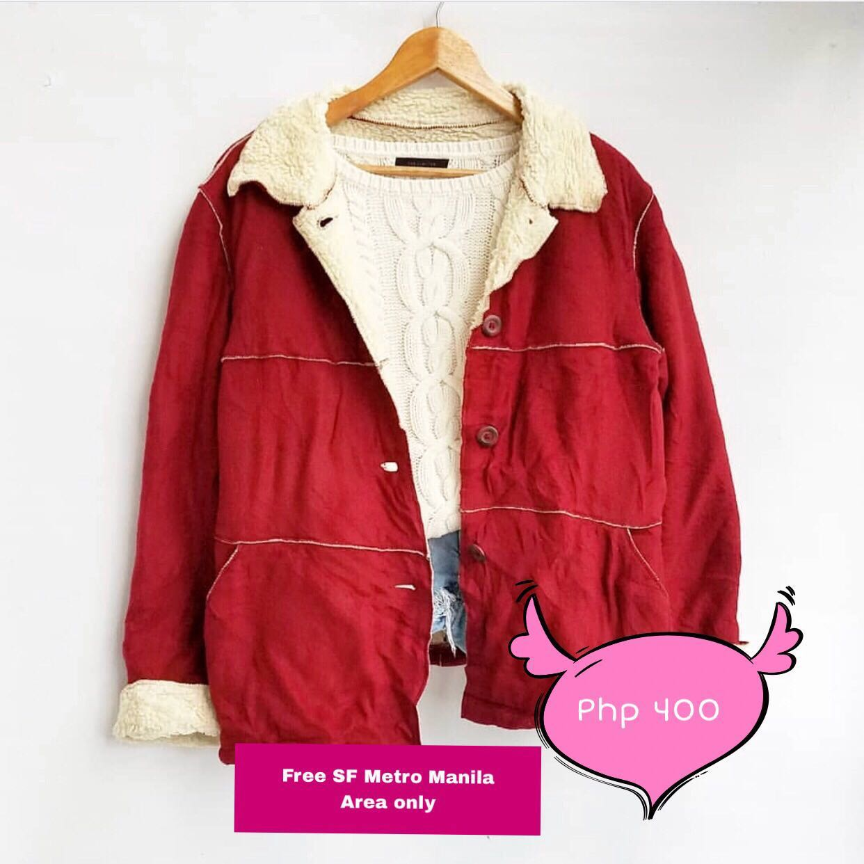 M43 Red winter jacket