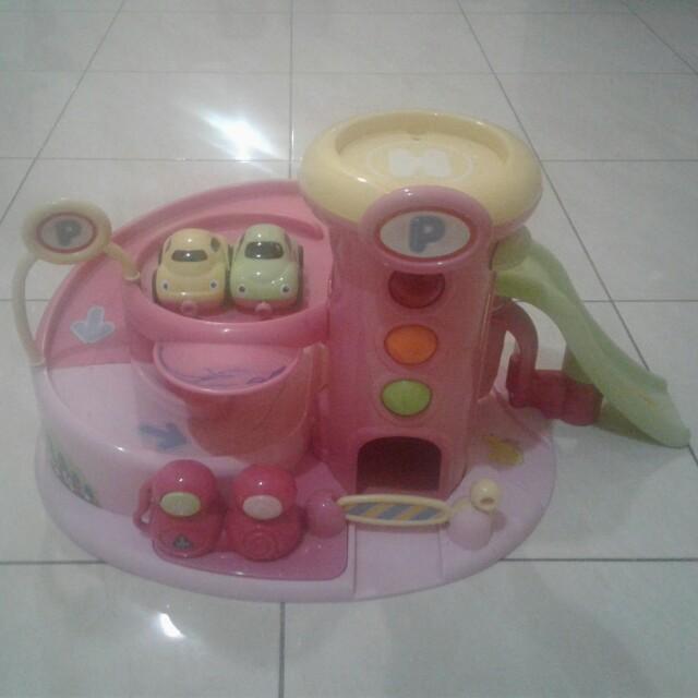 Mainan set jalan mobil ELC
