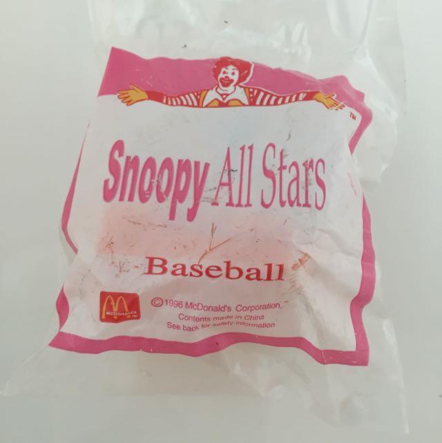 包郵McDonald happy Meal 麥當勞開心樂園餐 Snoopy
