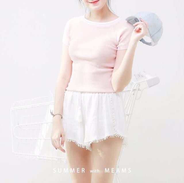 Meams Knitted Top