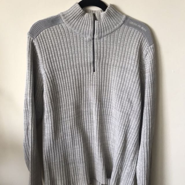 Men's Calvin Klein sweater: size M