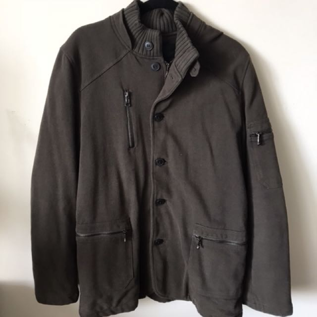 Men's Zara coat: size XL