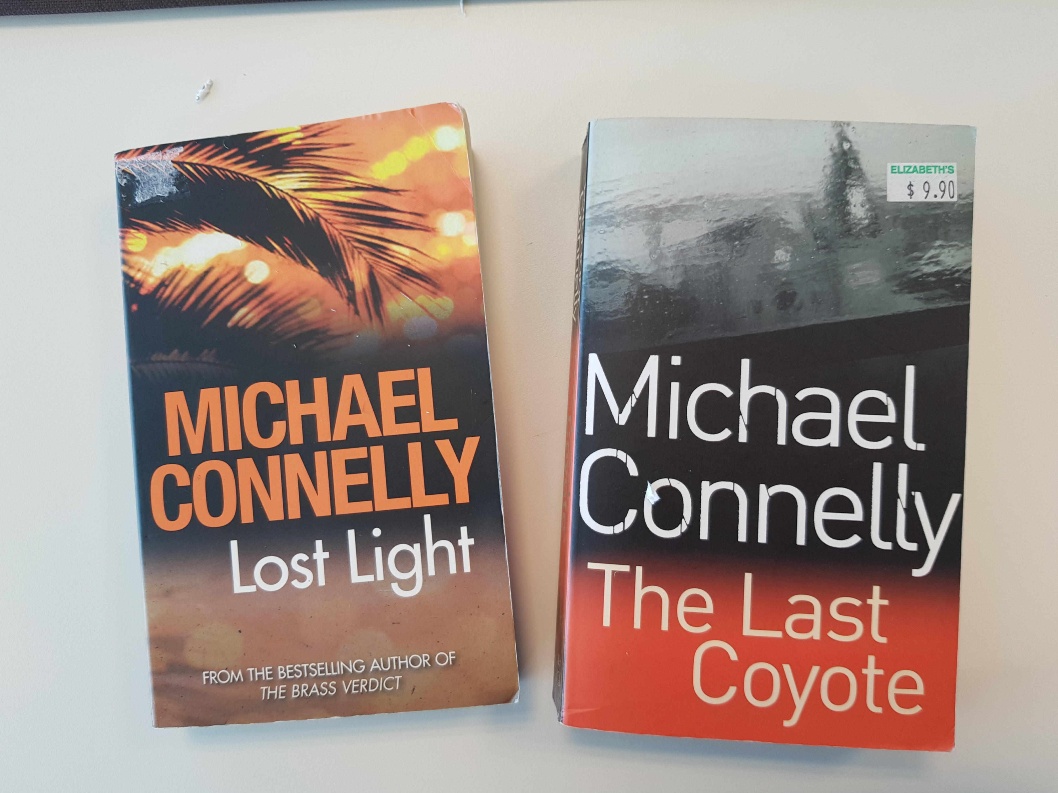 Michael Connelly novels