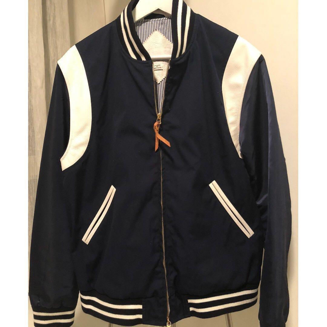 97edee646 Nanamica (North Face Japan) Varsity Jacket w Leather