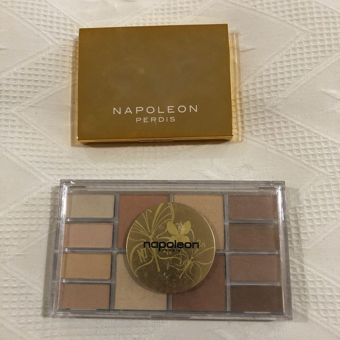Napoleon Perdis eyeshadow palettes