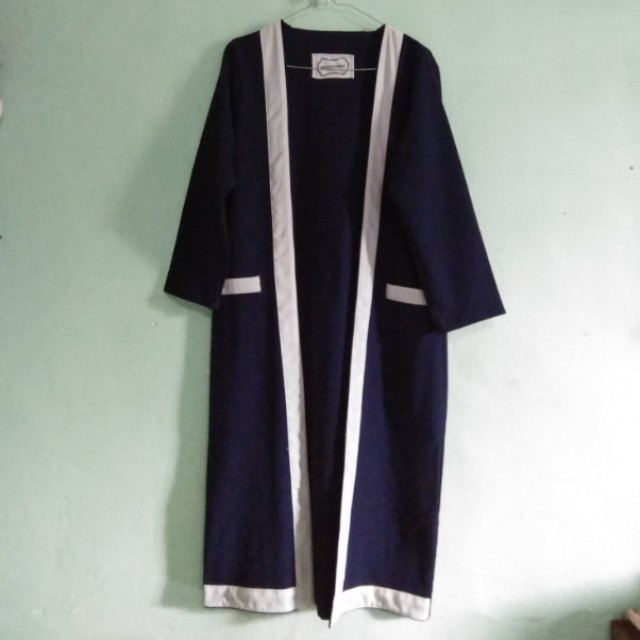 Navy Long Outerwear