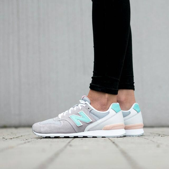 New Balance WR996JH D Wide Grey Green Pink Suede Womens