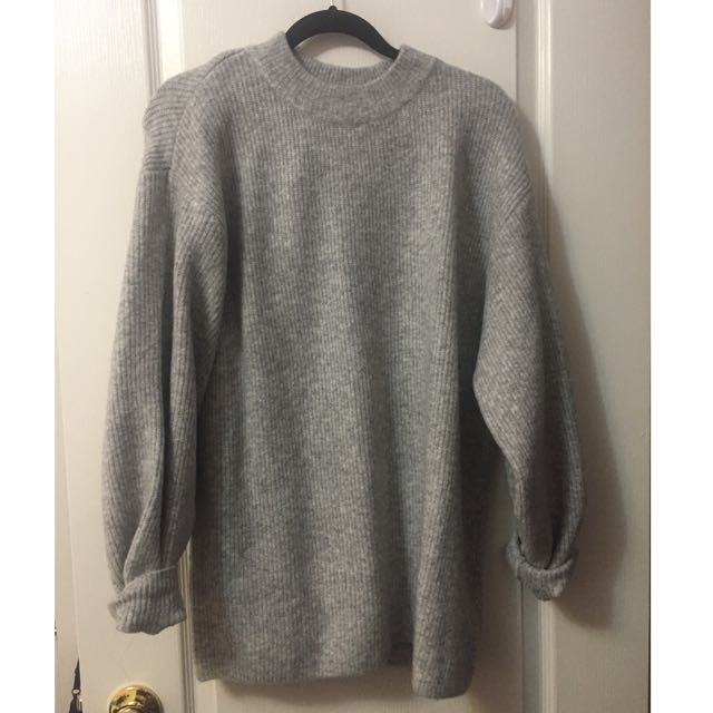 NEW H&M oversized knit sweater