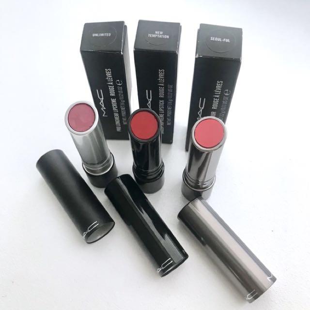 NEW- MAC Lipstick Bundle