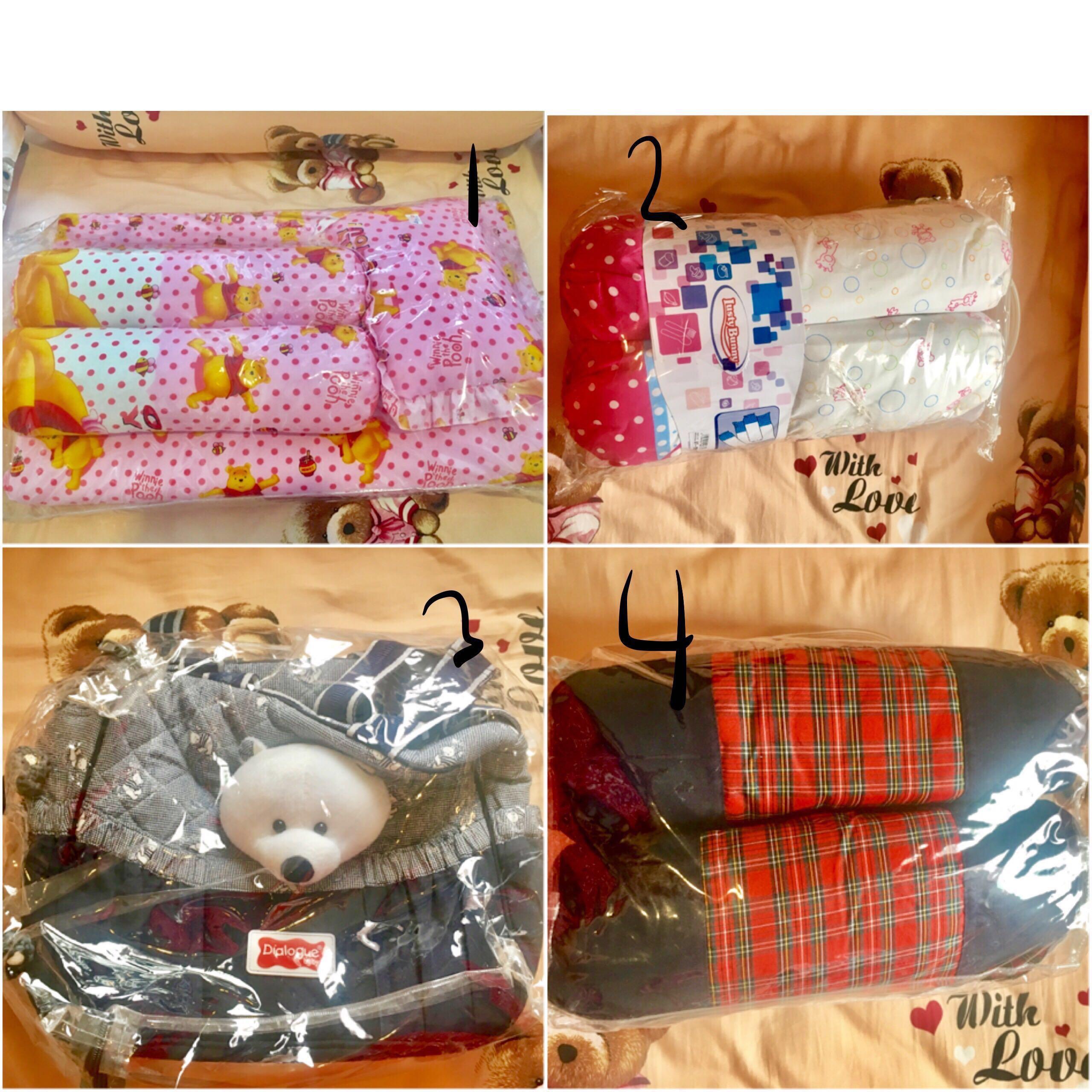Obral pillow set bantal guling tas gendongan bayi snobby dialoque lusty bunny