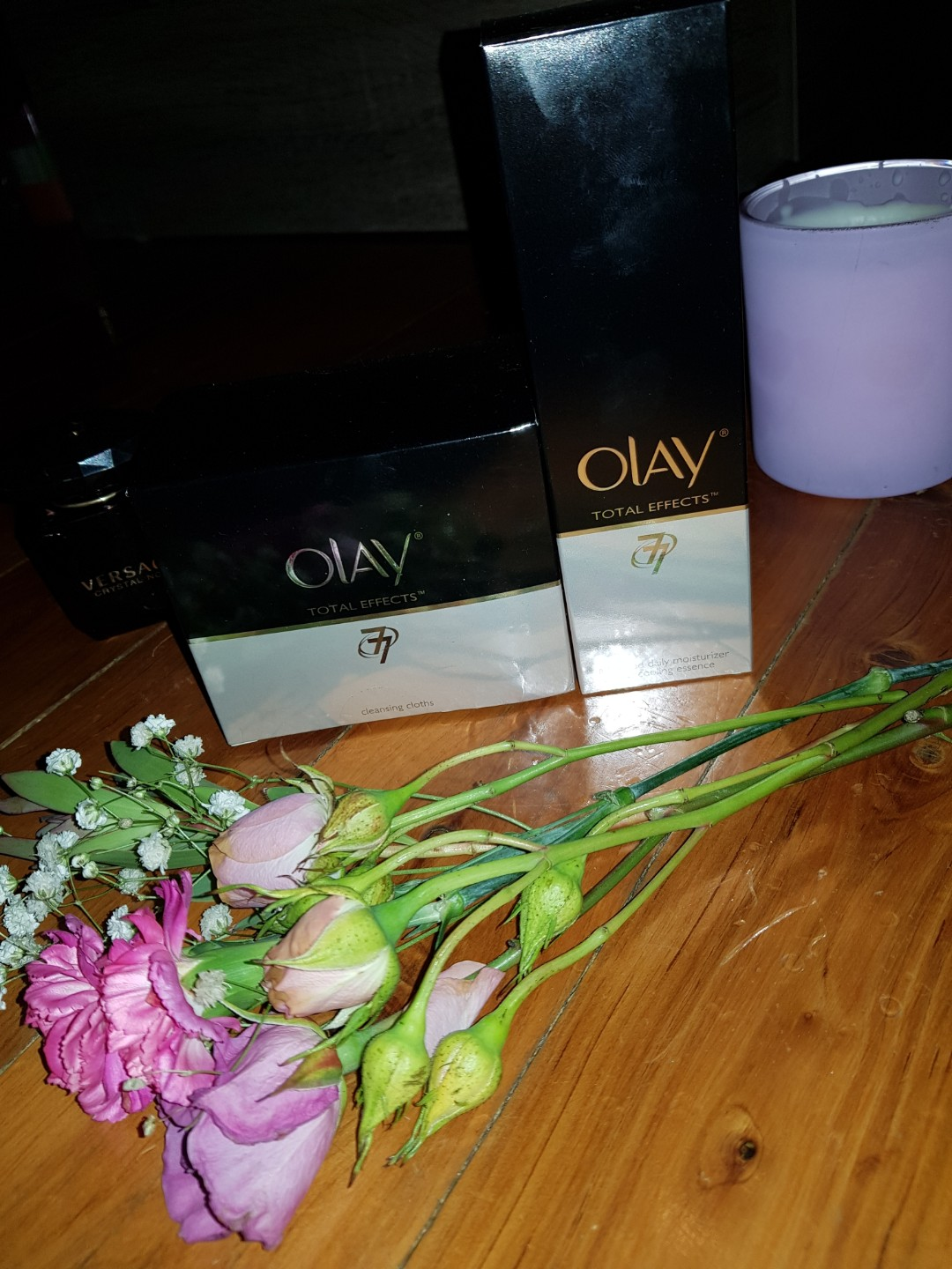 Olay Cleansing Pads and Olay Moisturizer 50ml