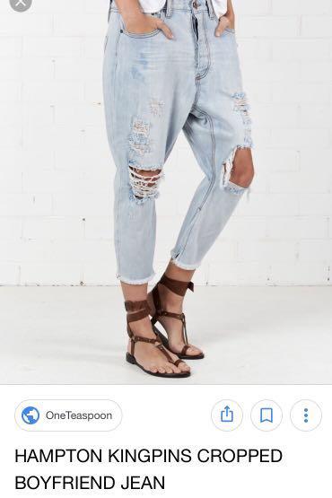 One teaspoon Hampton jeans