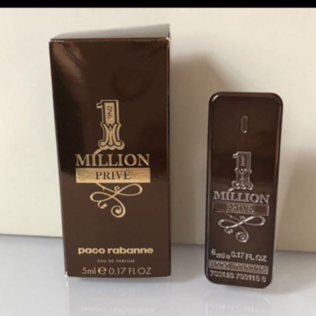 Paco Rabanne 1 Million Prive eau de parfum 5 ml. Mini