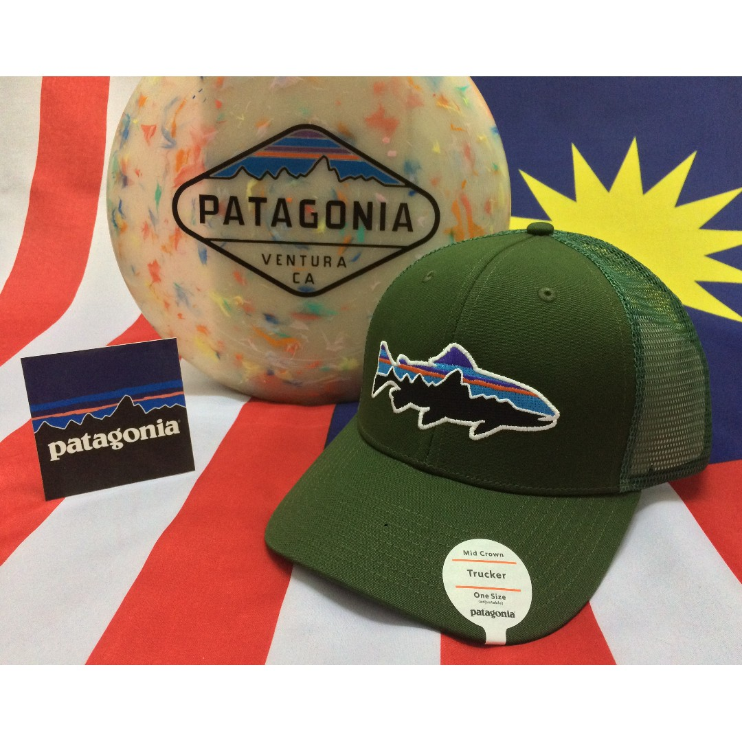 3cab86a3 Patagonia Fitz Roy Trout Trucker Hat, Men's Fashion, Accessories on ...