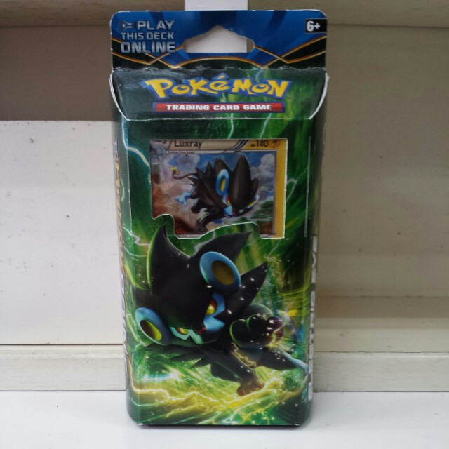 Pokemon Breakpoint Luxray Theme Deck