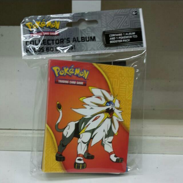 Pokemon TCG Album With Sun N Moon Booster