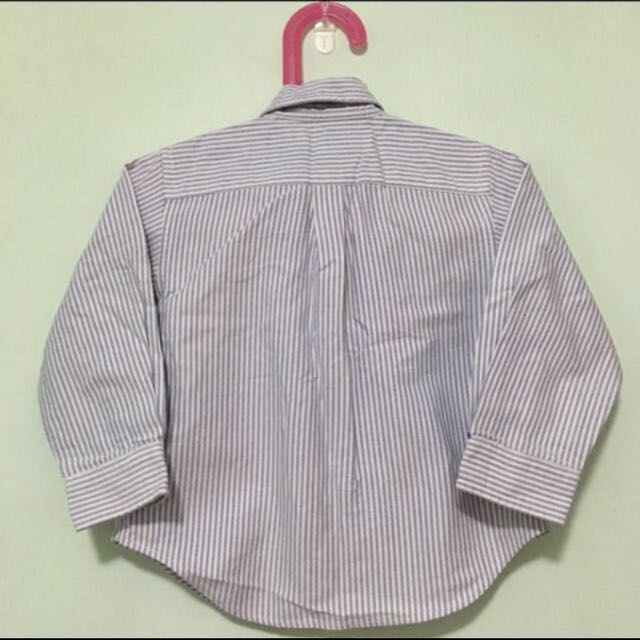 8299a217d2 👔POLO RALPH LAUREN👔 Authentic Boys  Long Sleeve Blue Stripe Shirt ...