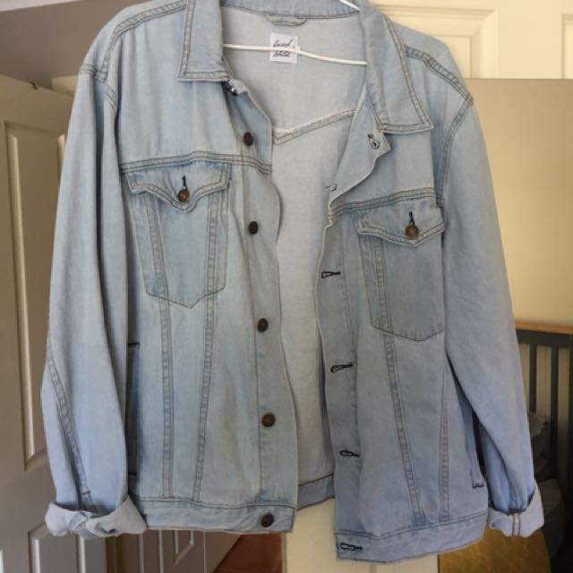 Princess Polly Oversized Denim Jacket // Size M-L