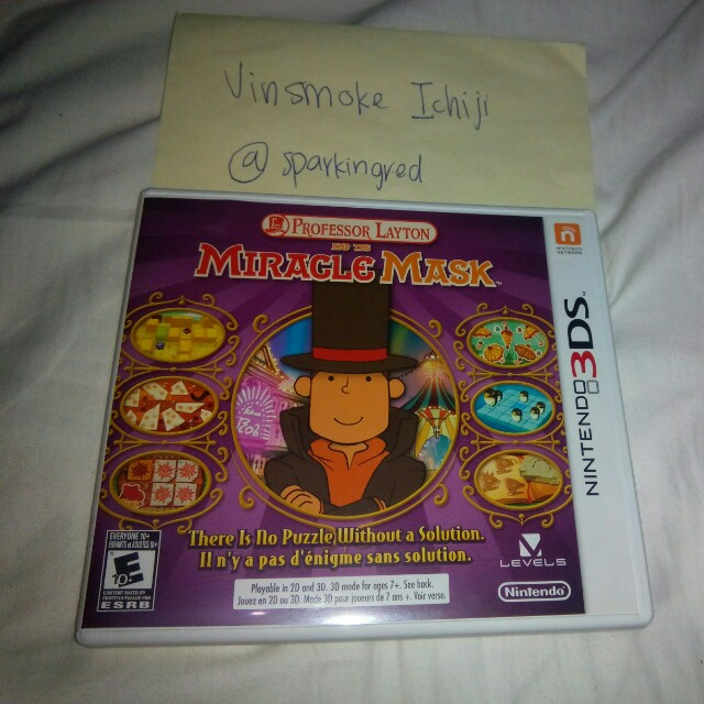 Professor Layton and the Miracle Mask 3DS