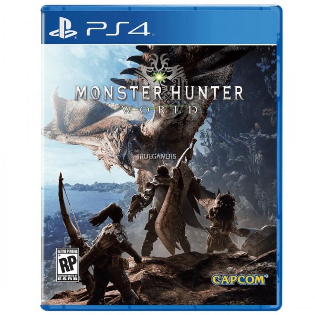 PS4 MONSTER HUNTER WORLD R1/ALL