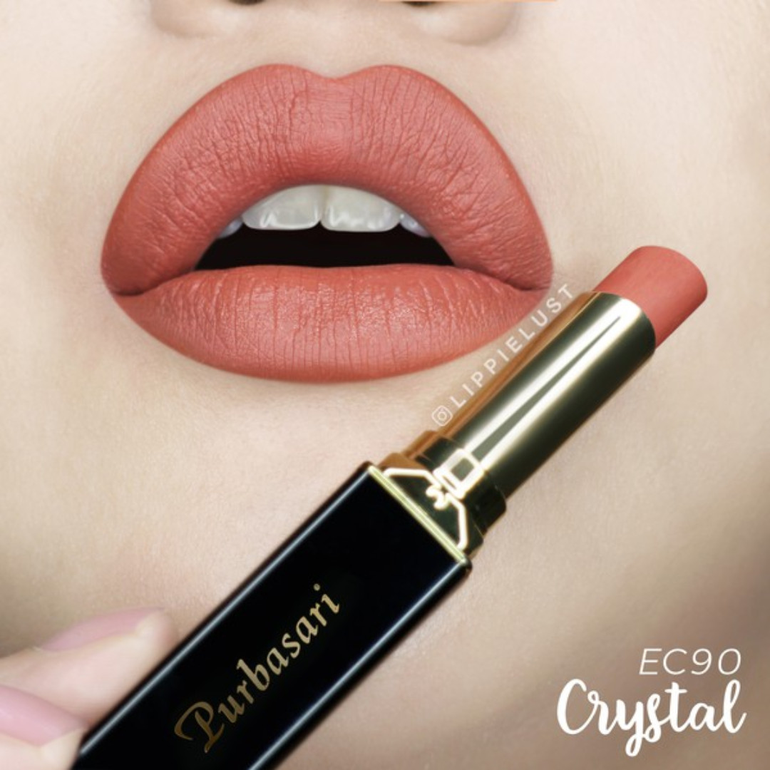 Purbasari Color Matte Lipstick No. 90 Crystal