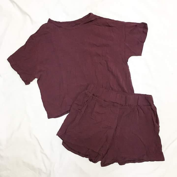 Purple Terno Outfit